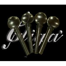 Set chei vioara din  abanos (scoala-student) 4/4-1/32