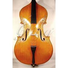 Contrabas 3/4 Gliga Special  (maestru), sculptat