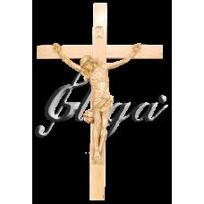 """Statueta """"Cristos pe cruce"""" (30cm) - natur"""
