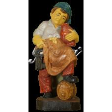 Statueta ,Pivniter' Pictat - 25 cm