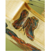 """Vioara 4/4 Gems 1 (student avansat), natur, pictata """"Fluturi"""""""