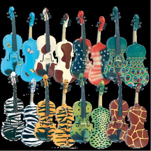 Gliga Instrumente Muzicale Vioara 44 Gems 2 Pictate