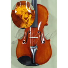 "Vioara 4/4 Gliga Special (maestru), spate intreg, pirogravata ""Balerina"""