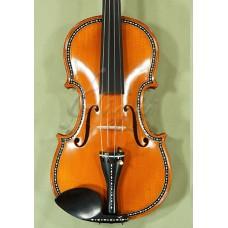 "Vioara 4/4 Gliga Special (maestru), spate intreg, intarsie os si abanos - Copie ""Greffuhle"" 1709"