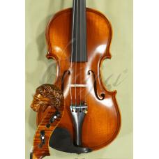 """Vioara 4/4 Gliga Special (maestru), spate intreg, fileu dublu, sculptata """"Cap de Leu"""""""