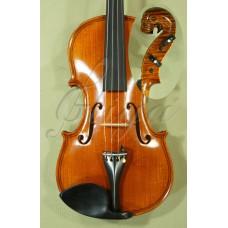 """Vioara 4/4 Gliga Special (maestru), fileu dublu, sculptata """"Cap Tyrolean"""""""