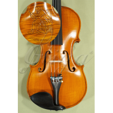 Vioara 4/4 Gliga Special Spate intreg Sculptat 'Antonio Stradivarius' Spate intreg (Maestru)