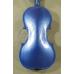 Vioara 4/4 Genial 1 (scoala), colorata -albastru metalizat